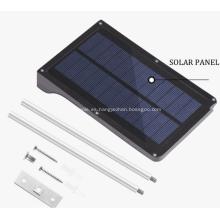 Luces de calle solares con sensor de movimiento LED