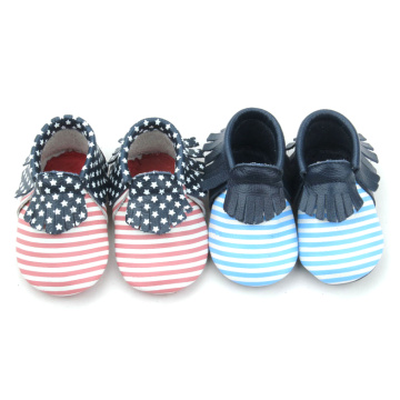 Red Bottom Infant Leather leather Moccasins Toddler Shoes
