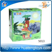 2016 juguetes plásticos de los bloques huecos del ABS educativo de los nuevos niños