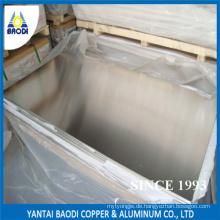 Kaltgezeichnete Plain Aluminiumplatte Blatt China Lieferant