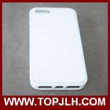 Sublimação-2D Celular Silicone Case para iPhone 5/5s em TPU