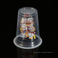 Gobelets de yogourt glacés en plastique rond jetables de 14 oz en polypropylène