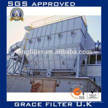 Equipo de filtro de polvo de alta eficiencia Colector de polvo para horno de piedra caliza