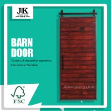 JHK Industrial Sliding Popular Interior Wooden Barn Door