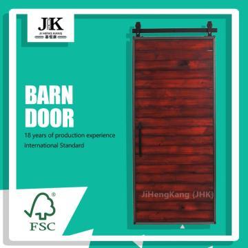 JHK Industrial Sliding Popular Interior Wooden Barn Door