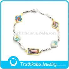 bracelet personnalisé bracelet en gros bracelet de charme bracelet chaîne chaîne de main pour les hommes