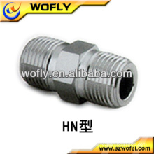 Stainless Steel Union Double Male Hex Nipple.