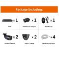 4chs 4.0MP Video Surveillance Systems Poe NVR Kits