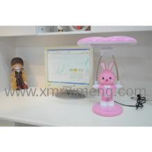 7W Pink Kids Rabbit Desk Light for Studying