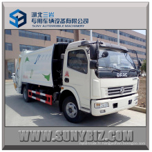 6cbm Dongfeng 4X2 Compactor Garbage Truck