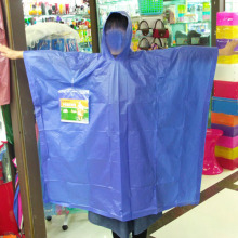 Reusable PVC Rain Poncho with Logo Printing