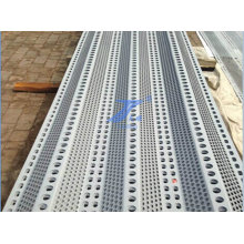 Punched Galvanized Sheet Wind Wall