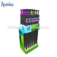 Paper material display rack cardboard display stand for umbrella