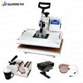 Sunmeta Manufacturer India Горячая продажа 8 в 1 Combo Heat Press машина, сублимационная машина 8 в 1