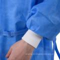 Bata cirúrgica descartável para cirurgia estéril