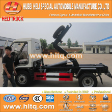 FOTON FORLAND4X2 new model 4.5 cubic 98hp trash collecting truck with best price high quality in China