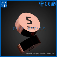 factory make round magnet pin decoration