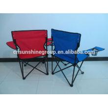 2014 venda quente camo cadeira de acampamento, camping poliéster de cadeira, ao ar livre com bojo cadeira de acampamento