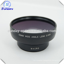 High Quality Camera lens 58mm wide angle lens UV67 0.45X