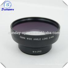 High Quality Camera lens 58mm wide angle lens UV67 0.45X