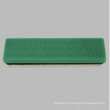 Tag colorido do nome magnético do Neodymium