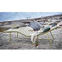 Chaise en polychrome en aluminium de plage en aluminium (L670)