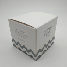 Custom Metallic Color Candle Boxes
