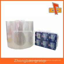 PVC shrink wrap bottle seal for yogurt/milk shake grouping