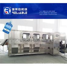 Máquina completa de llenado de agua de barril de 5 galones