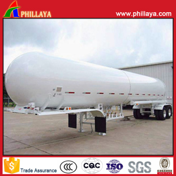 3 Axles Liquid Trailer Chemical Tanker