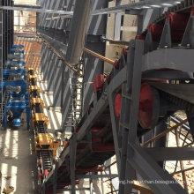 Ske High-Performance Large Inclination Upward Belt Conveyor