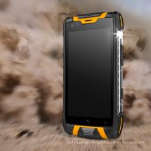 4.5 polegadas Quad Cores 4G IP68 NFC Smart Rugged telefone móvel