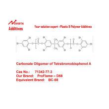 Oligo-oligómero de carbonato terminado por fenoxilo de Tetrabromobisfenol-A D-58