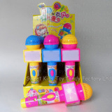 Flash Music Microphone with Candy (130919)