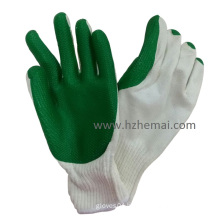 Thick Rubber Coated Gloves Construction Safety Work Glove