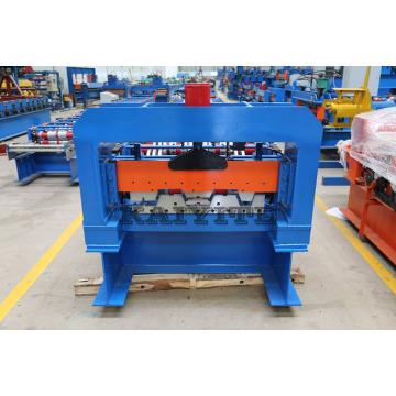Máquina de formação de rolo de plataforma de chão de chapa metálica