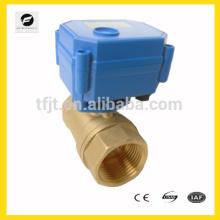 CWX-15Q / N rendimiento No1 válvula de bola de ajuste eléctrico para 1/4 '' ~ 1-1 / 2 '' para protección del medio ambiente y sistema de drenaje de agua