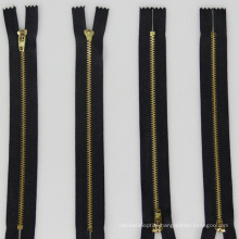 3-13# Metal Brass Zipper Auto Lock Open End Cheap