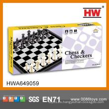 Juego de ajedrez de plástico gigante de venta caliente