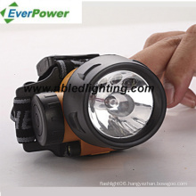 3PCS LED+1 Krypton LED Headlamp (HL-1006)