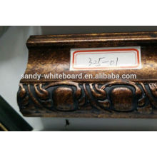 Solid wood frame side mirror frame