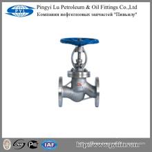 cast steel din bellow sealed globe valve