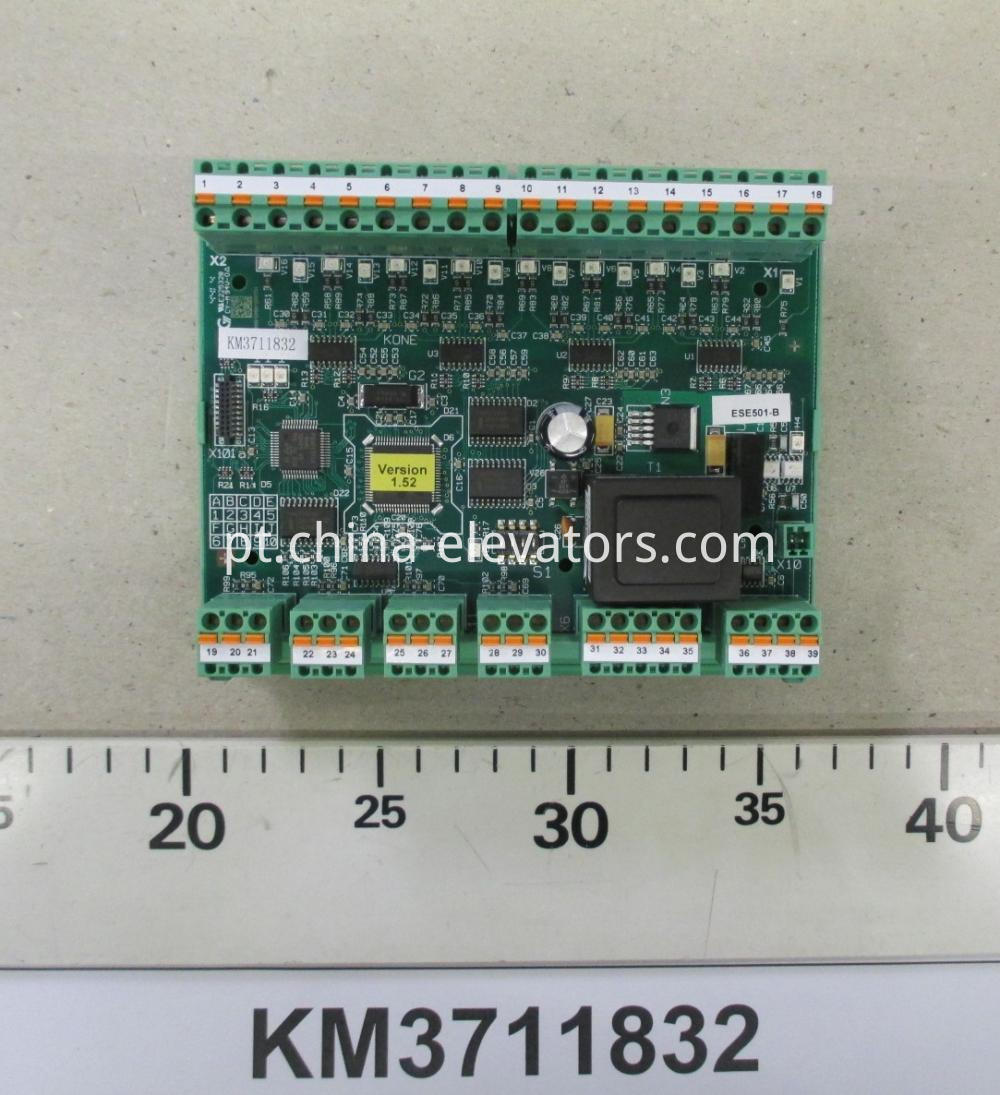 Safety Extension Programmed ECO Mainboard for KONE Escalators KM3711832