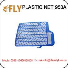 Blaues Kunststoffnetz