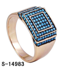 Nachahmung Schmuck 925 Sterling Silber Ring mit Türkis