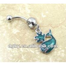 Moda jóias umbigo butão anel barriga anel piercing corpo