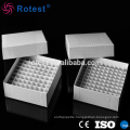 81-well cardboard freezer box for 5ml cryovial tube