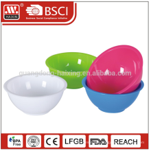 Whole sales unbreakable food grade product as requird size Plastic Salad Bowl