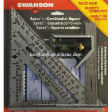 Speed Square with Book and Combination Square Value Pack