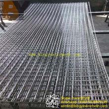 Panel de malla de alambre soldado de acero inoxidable de alta calidad
